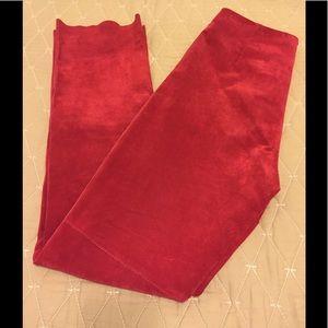 Bebe vintage suede High waisted pants